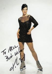 Katarina Witt Ice Skater Skating Champion Hand Signed Photo