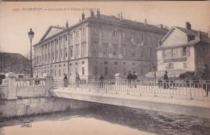 France Chambery La Leysse et le Palais de Justice