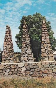 Lavallee Tent & Trailer Park, Park Stone Emblem, Faraday, Ontario, Canada, 40...
