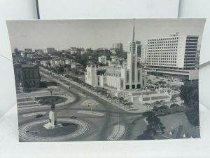 Vintage Rp Postcard LourenÇo Marques Praça Mouzinho de Alberquerque  Mozambique