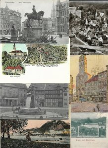 Germany Braunschweig Drachenfels Munich Dresden - Postcard Lot of 35 01.03