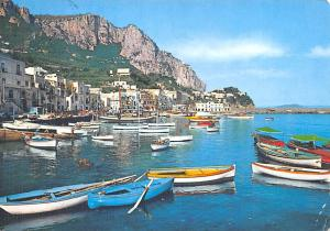 Italy Old Vintage Antique Post Card Great Sea Shore Capri Postal Used Unknown