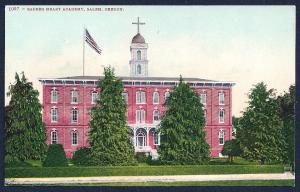 Sacred Heart Academy Salem Oregon unused c1910's