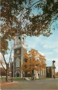 Plessisville Quebec~La Perle des Bois-Francs~L'Eglise St Calixte~1950s