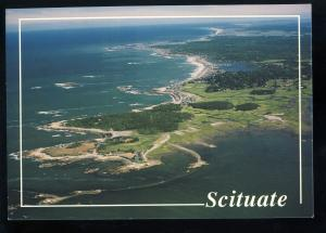 Scituate, Massachusetts/Mass/MA Postcard, Aerial View Of Glades To Hummarock
