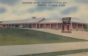 MARIETTA , Georgia , 1930-40s ; Traveler's Haven
