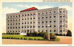 Ohio Hamilton Fort Hamilton Hospital Curteich