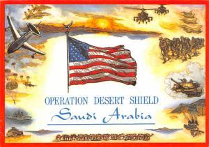 Saudi Arabia - Desert Sheild
