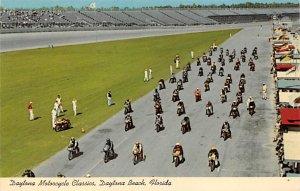 Motorcycle Classic, Daytona Beach, Florida, USA Auto Race Car, Racing Postcar...