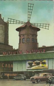 France Paris Moulin Rouge semi-modern postcard