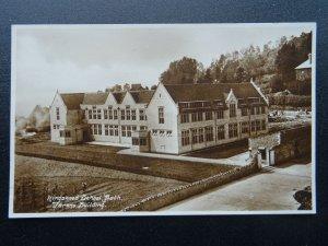 Somerset BATH Kingswood School New Building - Old RP Postcard
