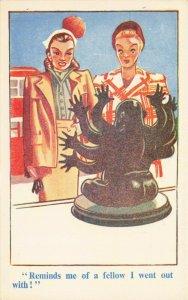 Comic Postcard Garland, Rudolf & Co. W105, Seaside Joke, Humour KJ7
