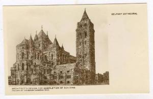 RP, Architect´s Design For Completion Of Building, Belfast Cathedral, Northe...
