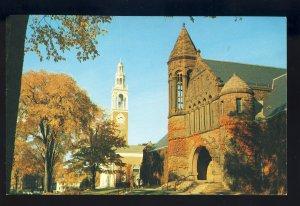 Burlington, Vermont/VT Postcard, Billings Library/Allen Chapel, University/UV
