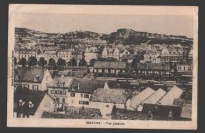 114994 France BELFORT General View Vintage postcard