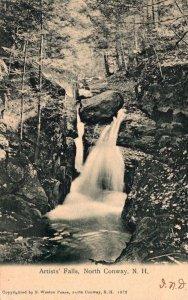 New Hampshire North Conway Artist's Falls 1906