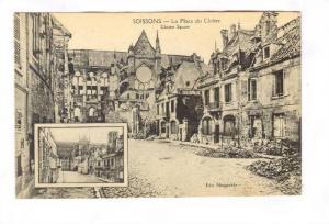 La Place Du Cloitre, Cloister Square, Soissons (Aisne), France, 1900-1910s