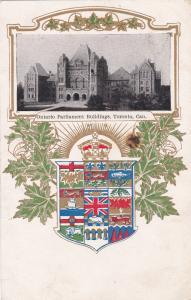 TORONTO , Ontario , ,Canada ,1900-10s; Ontario Parliament Buildings