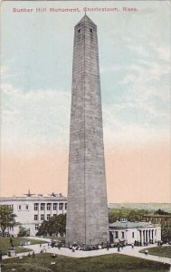 Massachusetts Chariestown Bunker Hill Monument 1914