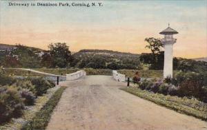 New York Corning Driveway In Dennison Park 1911
