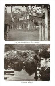 21804 Samoa   Residences of  Americans and Samoan