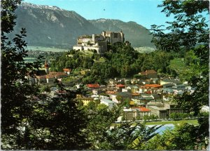 postcard  Salzburg - birds eye view