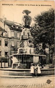 CPA BESANCON - Fontaine de la Place de la Revolution (486528)