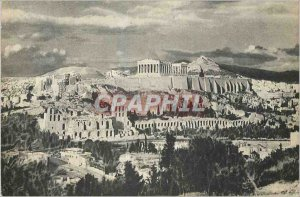 Modern Postcard The Acropolis Athens Greece