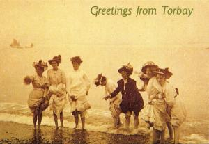 Postcard Greetings from TORBAY Edwardian Reproduction Card