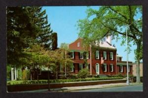 NEW JERSEY MORRISTOWN NJ Wedgwood Inn Hotel Postcard PC