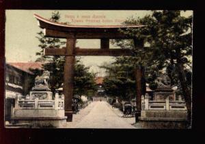 028432 JAPAN KYOTO Fushimi Temple Vintage color PC