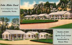 Florida Jacksonville The Patio Motor Court
