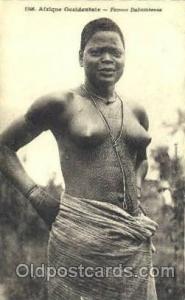 Femme Dahomeenne African Nude Post Card Post Card  Femme Dahomeenne