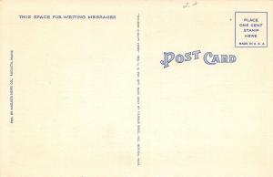 Augusta Maine~Post Office~1940 Postcard