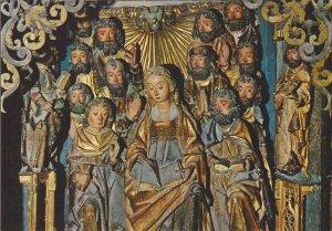 POSTAL 62545 : Tambor giratorio Pentecostes. Burgos. España