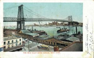 USA - The New East River Bridge New York 1904 01.84
