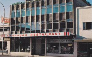 Okanagan Restaurant & Adam's Drug Store , VERNON , B.C. , Canada , 50-60s