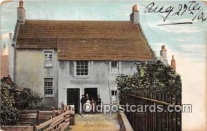 Anstruther Postcard Post Card Chalmer's Birth Place
