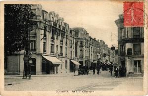 CPA SOISSONS Rue saint christophe (191977)