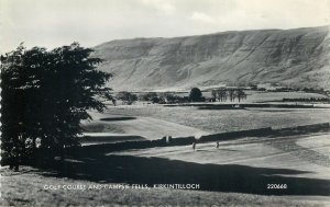 Postcard Scotland Kirkintilloch Golf Course and Campsie Fells