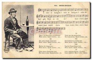 Old Postcard Folklore Mous esclos