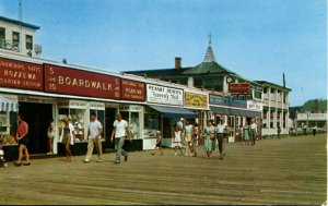 Rehoboth, Delaware - Shop for souvenirs on the Boardwalk - in the 1950s