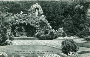The Grotto, Cyril and Methodius Seminary - Orchard Lake MI, Michigan