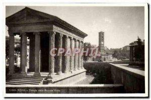 Old Postcard Roma Tempio della Fortuna Virile