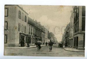 158192 France SAINT-NAZAIRE Rue de la Paix Street Vintage RPPC
