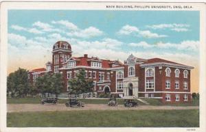 Oklahoma Enid Main Building Phillips University Curteich