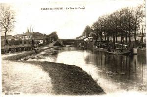 CPA  Pagny-sur-Meuse - Le Port du Canal   (178340)