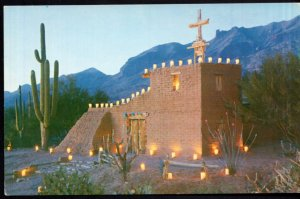 Arizona TUCSON Mission in the Sun in the Santa Catalina Mountains - Chrome