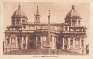 Exterior View, Santa Maria Maggiore, Roma, Lazio, Italy 1921