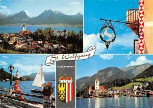 Motive aus St Wolfgang am Wolfgangsee Lake Hotel Gasthaus Panorama